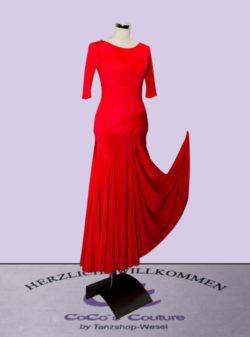 Trainingskleid Rot Vorne