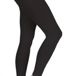 Ballettstrumpfhose ohne Fuß schwarz