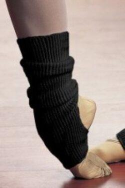 Beinwärmer schwarz kurz