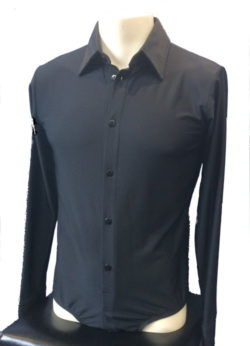Hemdbody schwarz