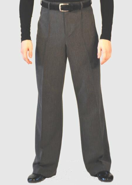 graue Herren Standardhose