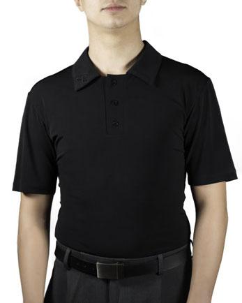 Poloshirt kurzer Arm schwarz