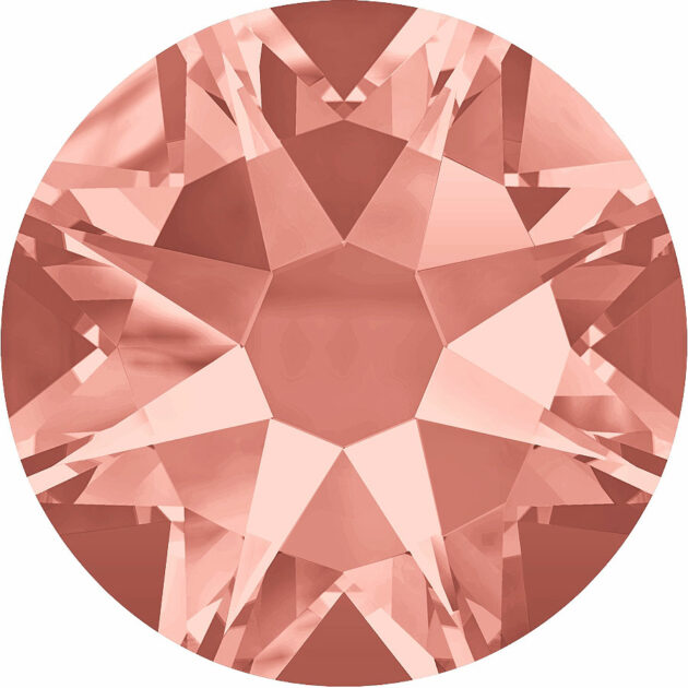 Strass Klebestein Rose Peach