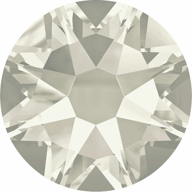 Strassklebesteine - Crystal Silver Shaded