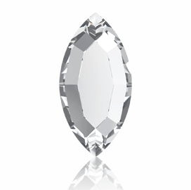 Strassklebestein – Navette Crystal