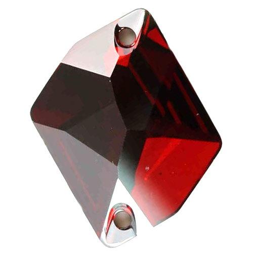Cosmic Sew-on Stone Red-magma