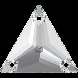 Strassaufnähstein Dreieck Crystal