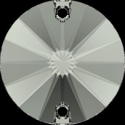 Swarovski Strassaufnähstein Black Diamond