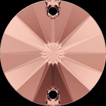 Swarovski Strassaufnähstein Blush Rose