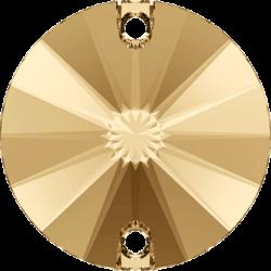 Swarovski Strassaufnähstein Crystal Golden Shadown