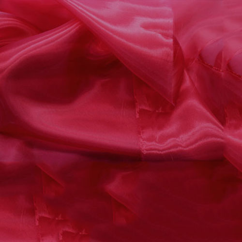 Crystal Organza CHERRY RED