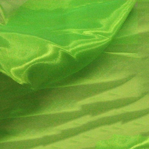 Crystal Organza FLUORESCENT GREEN