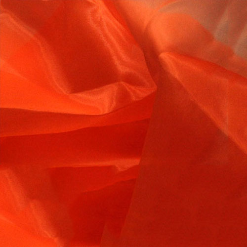 Crystal Organza HOT ORANGE