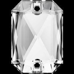 Emerald Cut Sew-on Stone Crystal