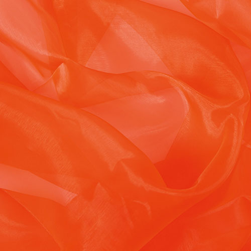Twinkle-Chiffon Organza ORANGE