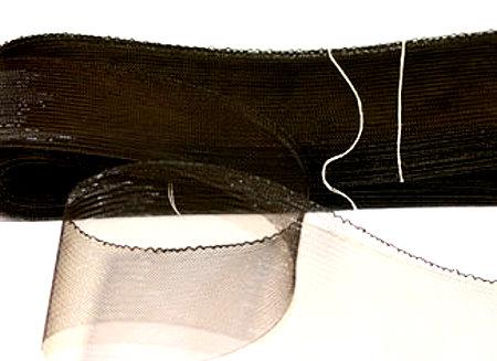 crinoline schwarz