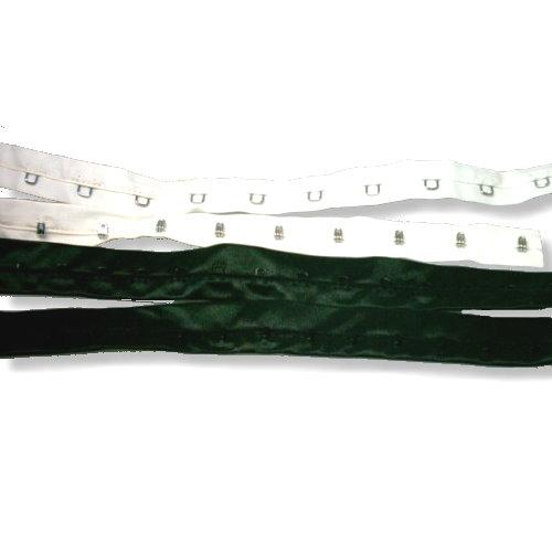 hakenband schwarz weiss