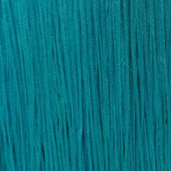 Fringe Fransen 15cm BLUE ZIRKON