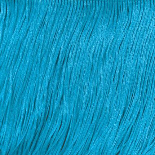 Stretch Fringe Fransen 30cm BLUE PARADISE