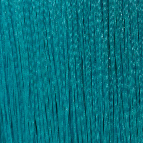 Stretch Fringe Fransen 30cm BLUE ZIRKON