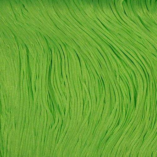 Stretch Fringe Fransen 30cm FLUORESCENT GREEN
