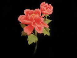 flower-motiv-multired