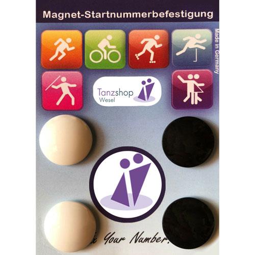 Startnummern Magnete
