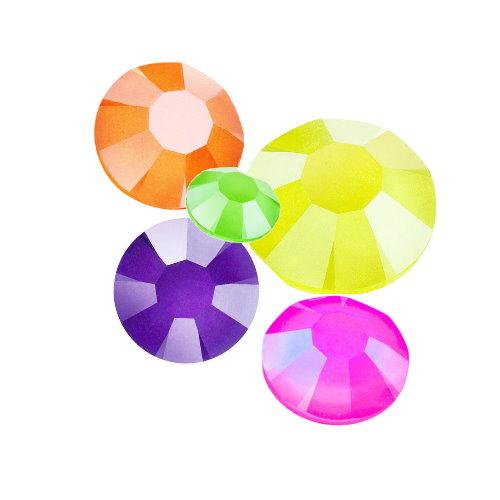 Strassklebesteine crystal neons